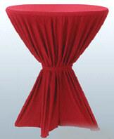 stehtischdecken und stehtischhussen profi qualit ten f r. Black Bedroom Furniture Sets. Home Design Ideas