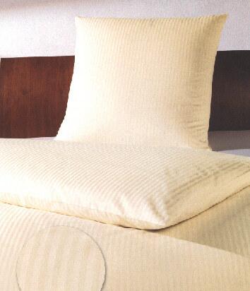larissa hotelbettw sche feinstreifen 8 mm weiss und farbig. Black Bedroom Furniture Sets. Home Design Ideas